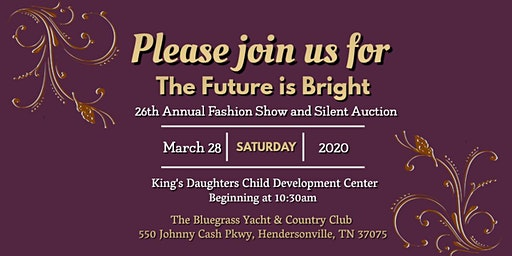 26th Annual Fashion Show and Silent Auction: The Future is Bright