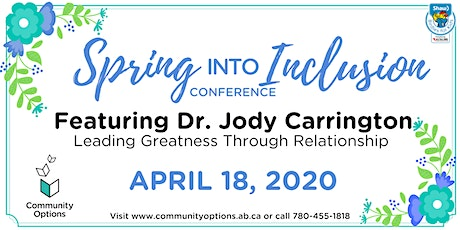 Community Options' 7th Annual Spring into Inclusion Conference tickets
