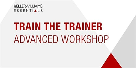 Train the Trainer--Advanced Workshop tickets