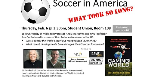 Soccer in America-What took so long?
