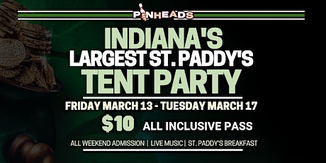 St. Paddy's Weekend All Access Wristband tickets