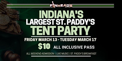 St. Paddy's Weekend All Access Wristband