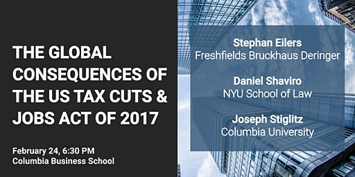 The Global Consequences of the US Tax Cuts and Jobs Act of 2017