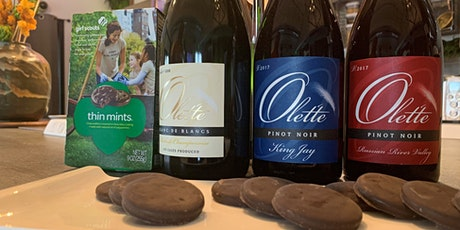 Olet'te Wine and  Girl Scout Cookie Pairing with the Winemaker tickets