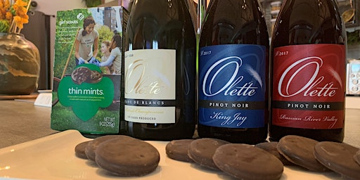 Olet'te Wine and  Girl Scout Cookie Pairing with the Winemaker