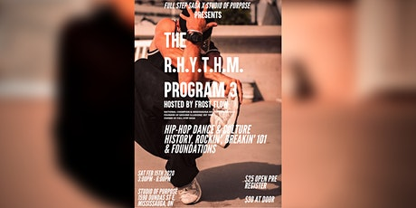 The R.H.Y.T.H.M. Program 3 tickets