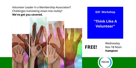 PDCHR GO! Workshop—Think Like a Volunteer: Energizing Your Event Staff tickets