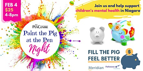 Paint the Pig at the Pen Night tickets