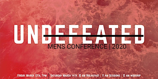 Undefeated Mens Conference