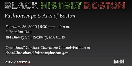 3rd Annual Fashionscape & Arts of Boston tickets