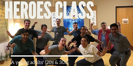 Heroes Night: Yoga for Young Adults tickets