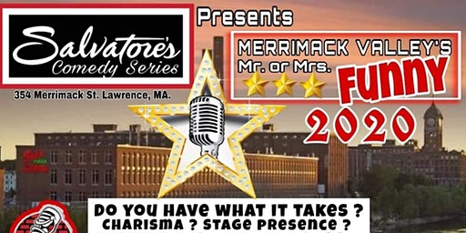 Merrimack Valley Mr/Mrs Funny 2020 FINALE Friday April 24th at Salvatore's
