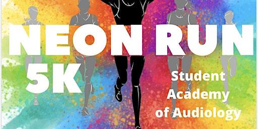 TTUHSC Student Academy of Audiology 5k Neon Run