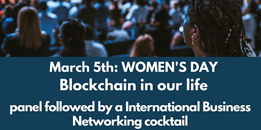 International Women's day - Women & blockchain panel