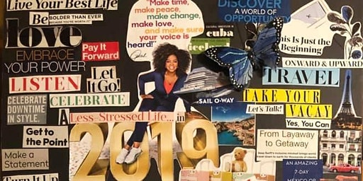Living My Best Life 2020 Vision Board Soriee