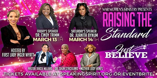 W.A.R. presents RTS (Raising The Standard) Women's Conference 2020!