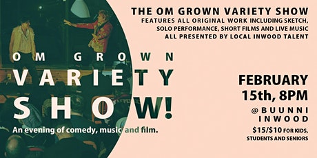 Om Grown Variety Show tickets
