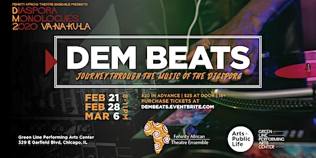 DEM BEATS: Friday Night Dance Party with  Fehinty African Theatre Ensemble tickets