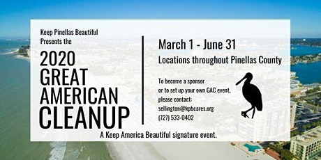 2020 Great American Cleanup - Safety Harbor Cleanup tickets