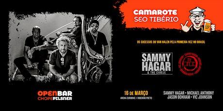 Sammy Hagar em Ribeirão Preto - Camarote Seo Tibério ingressos