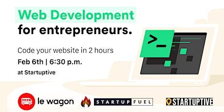 Le Wagon Workshop: Web Development for Entrepreneurs tickets