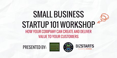 Small Business Startup 101 workshop tickets