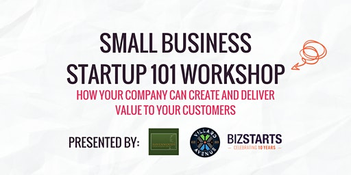 Small Business Startup 101 workshop
