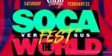 SOCA FEST VS WORLD |  CARIBBEAN Saturdays @ SOB's  tickets