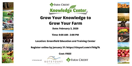 Grow Your Knowledge to Grow Your Farm