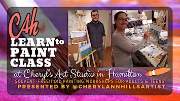 Oil Painting Workshop at Cheryl's Art Studio