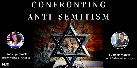 Confronting Anti-Semitism Panel tickets
