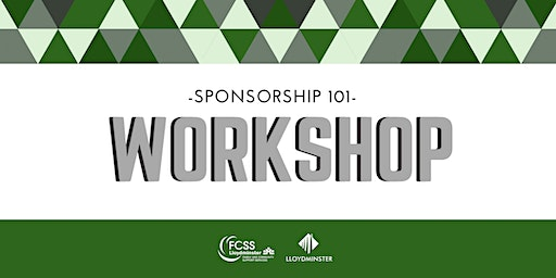 Sponsorship 101 Workshop