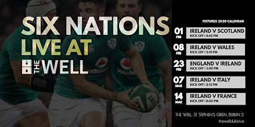 SIX NATIONS 2020 | Live at The Well