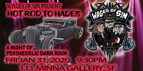 Wages of Sin Band Live this Friday tickets