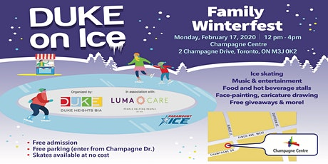 DUKE on Ice Family Winterfest - February 17, 2020 tickets