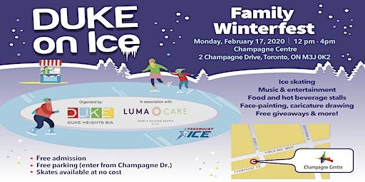 DUKE on Ice Family Winterfest - February 17, 2020