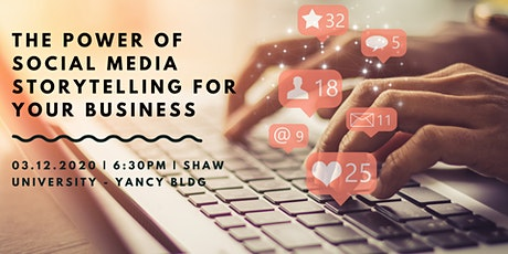 The Power of Social Media Storytelling for your Business tickets