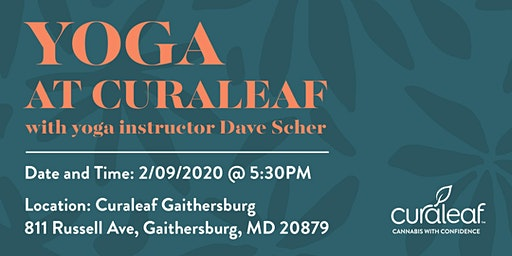 Yoga at Curaleaf Gaithersburg Russell Ave