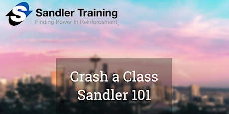 Crash a Class - Sandler Training tickets