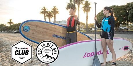 Torpedo7 Club Intro to SUP (Paddleboarding) - Browns Bay w/ GTGO tickets