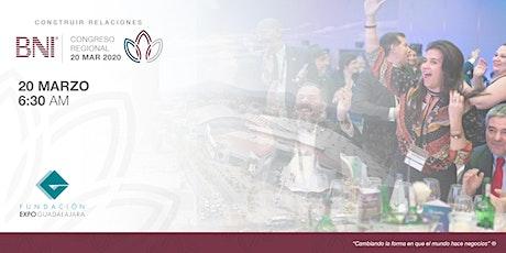 Construir relaciones | Congreso Regional BNI Jalisco 2020 boletos