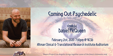 Coming Out Psychedelic- A talk by Daniel McQueen tickets
