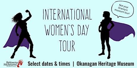 International Women's Day Tour tickets