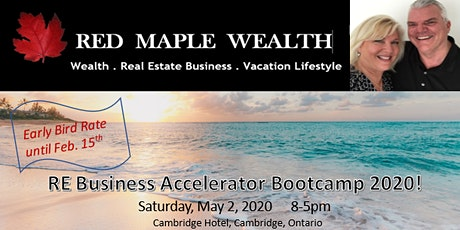 Real Estate Investor Accelerator Bootcamp by Red Maple Wealth tickets