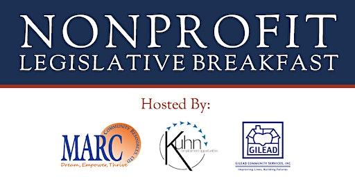 Nonprofit Legislative Breakfast