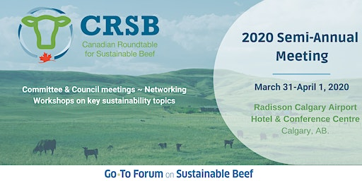 CRSB 2020 Semi-Annual Meeting
