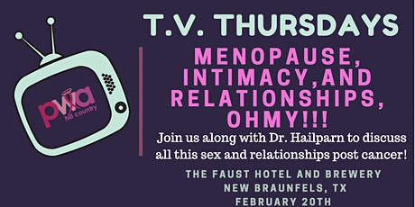 Menopause, Intimacy, and Relationships OH MY tickets