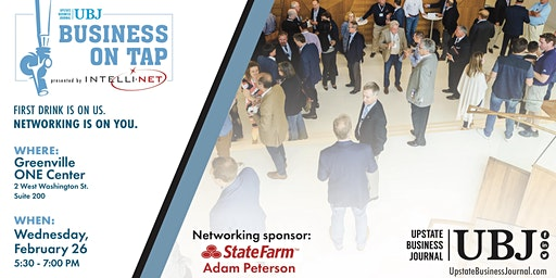 Business on Tap @ Greenville ONE Center