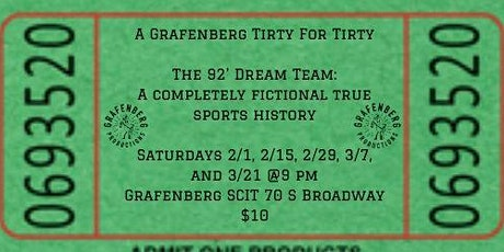 The 92' Dream Team: A Completely Fictional True Sports History tickets