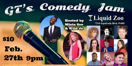 GT's Comedy Jam at Liquid Zoo tickets